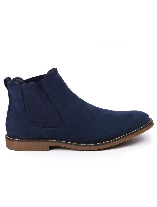 Metrocharm MC128 Men's Formal Dress Casual Ankle Chelsea Boot