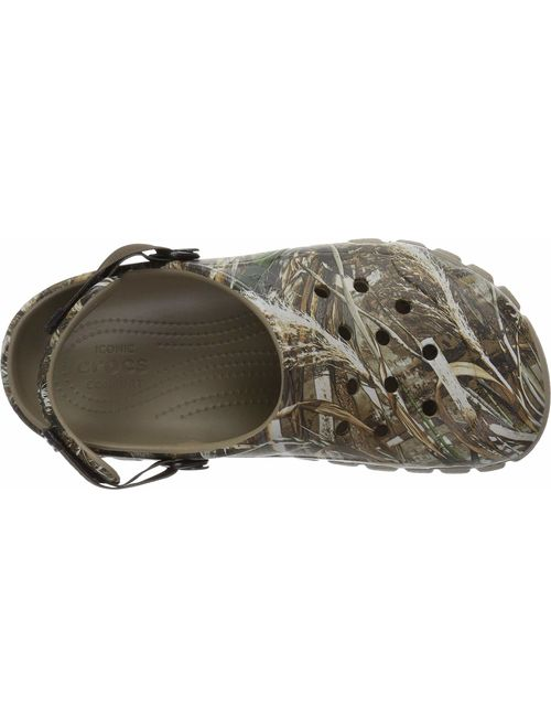 Crocs Men's and Women's Offroad Sport Realtree Max-5 2 Clog