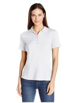 Riders by Lee Indigo Women's Short-Sleeve Polo Shirt