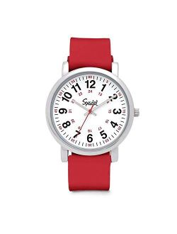 Original Scrub Watch 60340015 - Medical Scrub Colors, Easy Read Dial, Second Hand, Water Resistant