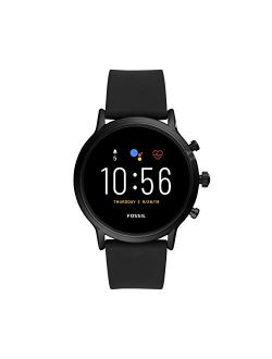 Gen 5 Carlyle Hr Black Silicone Band Smart Watch - Ftw4025
