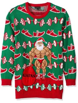 Men's Ugly Christmas Fitness Pullover Sweater