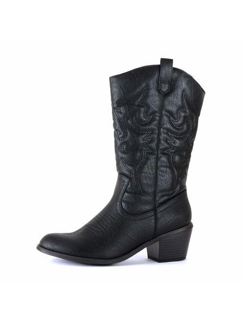 West Blvd - Womens Miami Cowboy Western Boots