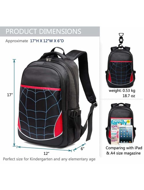 Kids Backpack for Boys Elementary School Bags Durable Kindergarten Bookbags