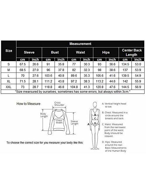 Hotouch Womens One Piece Pajama Union Suit Thermal Underwear Set Sleepwear Pajama Jumpsuit Union S-XXL