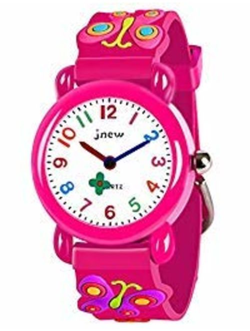 LET'S GO! DIMY Kids Watches 3D Cute Cartoon Waterproof Silicone - Best Gifts