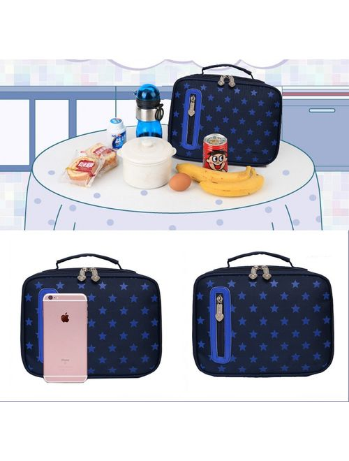 HHui Kids Backpacks for School Bags for Boys Girls Bookbags and Pencil Lunch Box