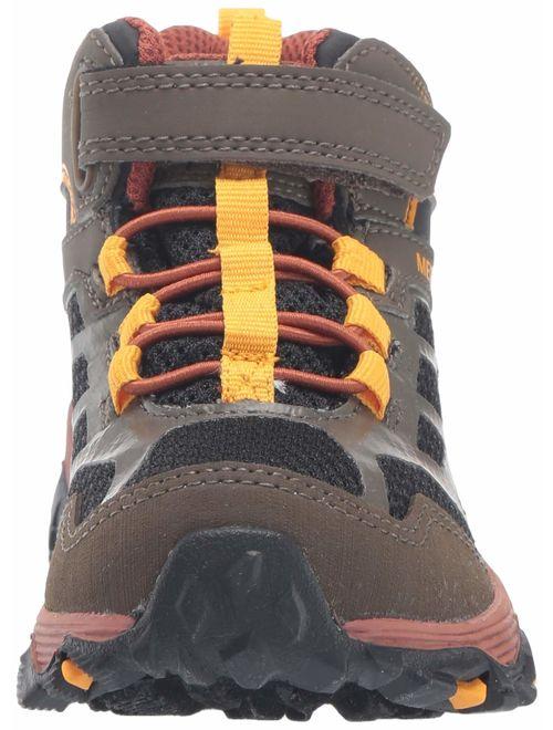 Merrell Kids' Moab FST Mid a/C WTRPF Hiking Shoe