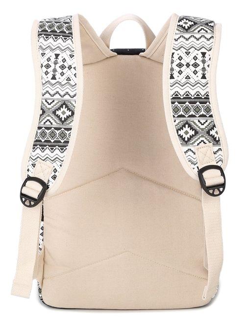 Goldwheat Canvas School Backpack Casual Laptop Bag Shoulder Bag for Teen Girls Boys