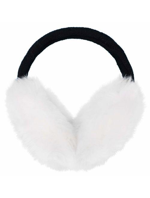 Women/Men's Winter Warm Faux Fur Plush Ear Warmers Earmuffs