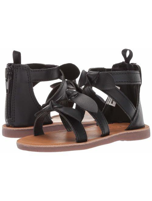 OshKosh B'Gosh Girl's Winona Bow-Accented Strappy Sandal,