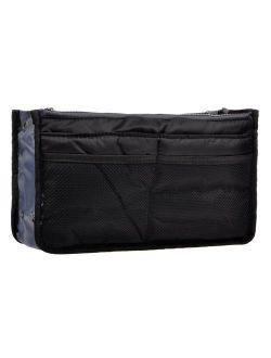 Vercord Purse Organizer,Insert Handbag Organizer Bag in Bag (13 Pockets 30 Colors 3 Size)