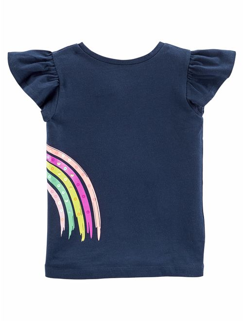 Simple Joys by Carter's Toddler Girls Short-Sleeve Graphic Tees