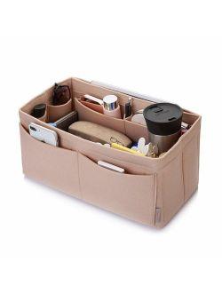 Felt Purse Organizer, Bag in Bag Organizer For Tote & Handbag Speedy Neverfull, Medium Large Extra Large