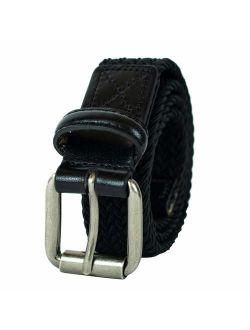 Big Boys' Braided Elastic Web Belt