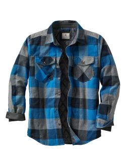 Mens Woodsman Heavyweight Quilted Shirt Jacket
