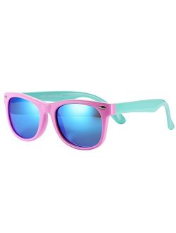 Pro Acme TPEE Rubber Flexible Kids Polarized Sunglasses