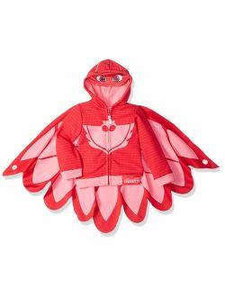 PJ MASKS Girls' Owlette Hoodie and Hooded Tee