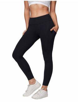 AJISAI Yoga Pants for Women Running Workout Leggings High Waist Tummy Control