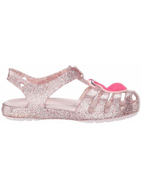 Crocs Kids' Girls Isabella Charm Flat Sandal
