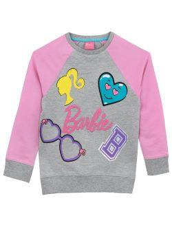 Barbie Girls' Logo Sweatshirt