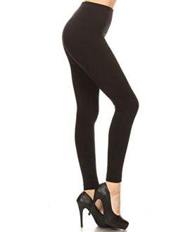 Women's Popular Reg/plus Premium Warm Fleece Lined Leggings Tights Pants