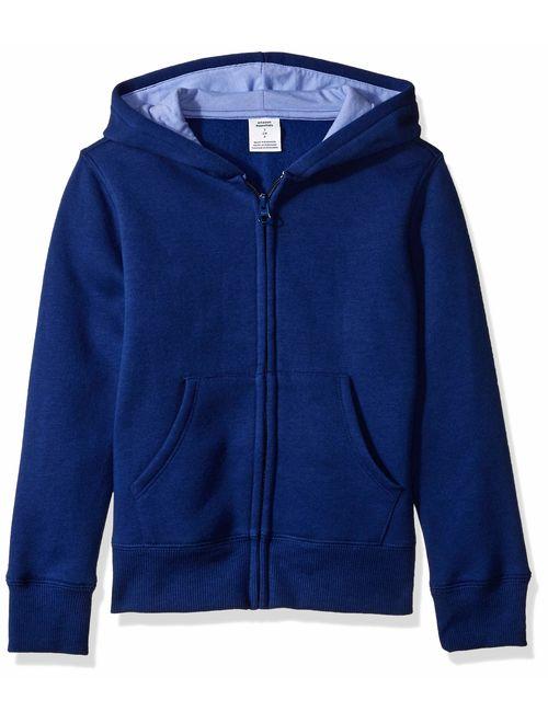 Amazon Essentials Girls' Fleece Zip-up Hoodie