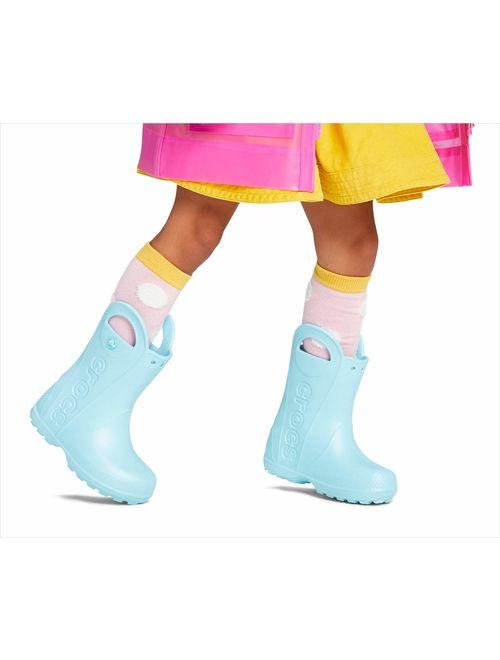 Crocs Kids' Handle-it Rain Boot Shoe