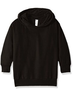 Clementine Apparel Little Toddler Girl Boy Unisex Soft Fleece Pullover Hooded Sweatshirt