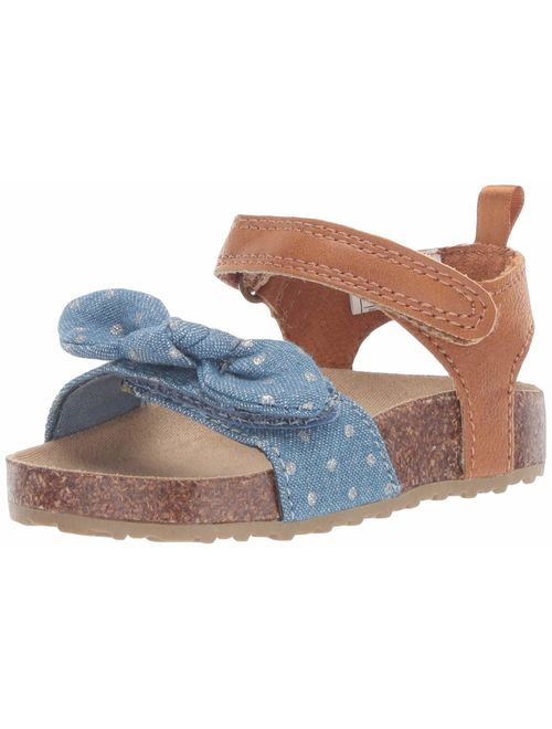 Carter's Girl's Welsie Chambray Sandal