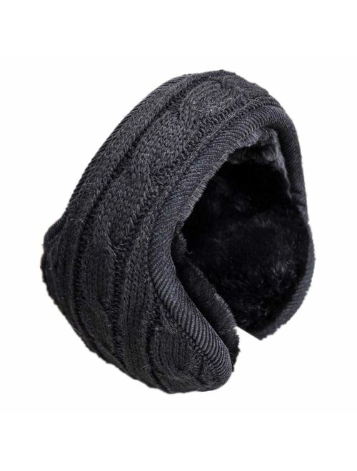 Cozy Design Women's Winter Adjustable Knitted Ear Muffs ...