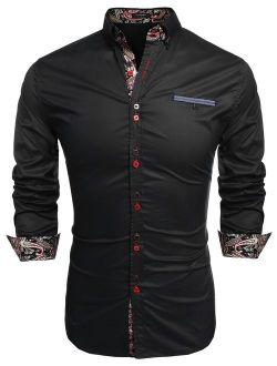 Men's Fashion Slim Fit Casual Shirt