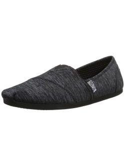 M Skechers Women's Plush Fashion Slip-on Flat