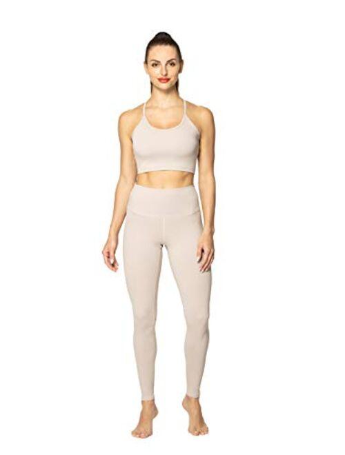 Sunzel Yoga Pants for Women Mid&High Waist Tummy Control Workout Leggings ...