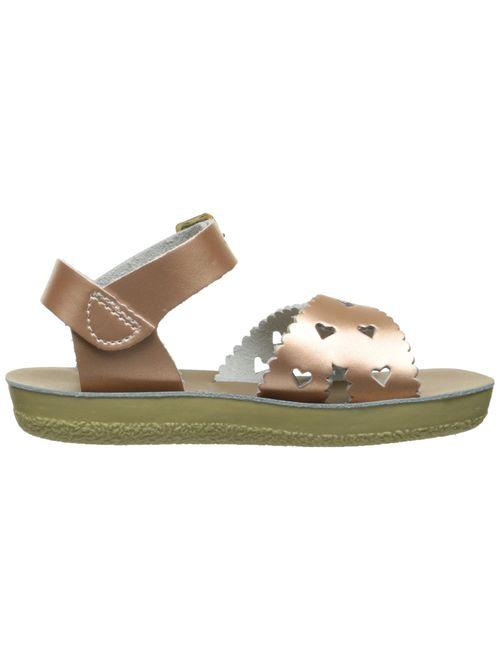 Salt Water Sandals Kids' Sun-san Sweetheart-K Flat Sandal
