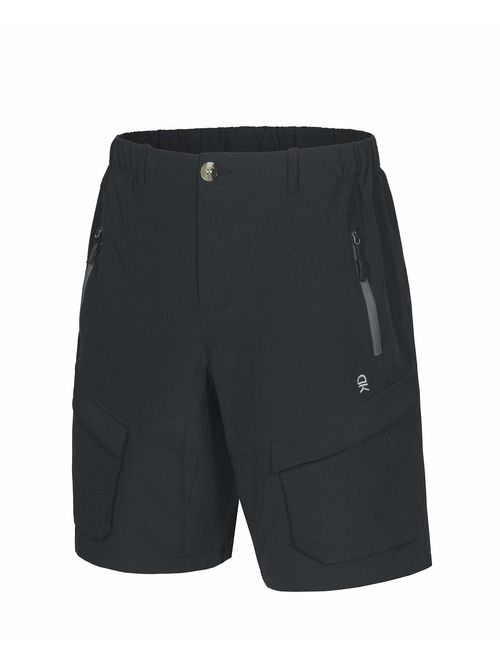 Little Donkey Andy Men's Stretch Quick Dry Cargo Shorts for Hiking, Camping, Travel
