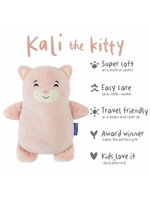 Cubcoats Kali The Kitty 2-in-1 Transforming Down Jacket Hoodie /& Soft Plushie