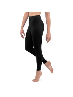 Posh by Anna Ultra Soft Double Brushed Women's Leggings with Premium Yoga Waistband - Slimming, High Waist - Solid Opaque