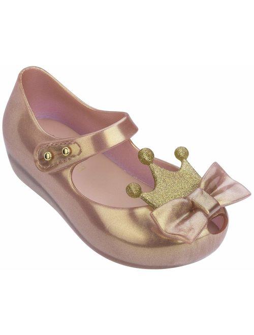 melissa Girls Ultragirl Princess Sandal, Metallic Pink, Size 11 M US Little Kid
