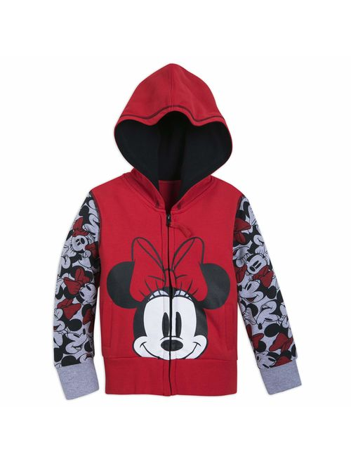 Disney Minnie Mouse Hoodie for Girls - Red