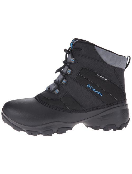 Columbia Unisex-Kids Youth Rope Tow III Waterproof Snow Boot