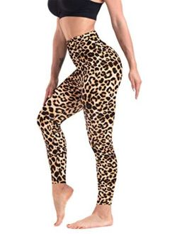 CAMPSNAIL for Women Ultra Soft Christmas Printed High Waist Tummy Control Leggings Capri & Full Length Squat Proof Leggings Workout Pants