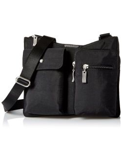 Everything Crossbody Bag - Slim And Sleek, Lightweight, Multi-pocketed Travel Bag With Removable Wristlet