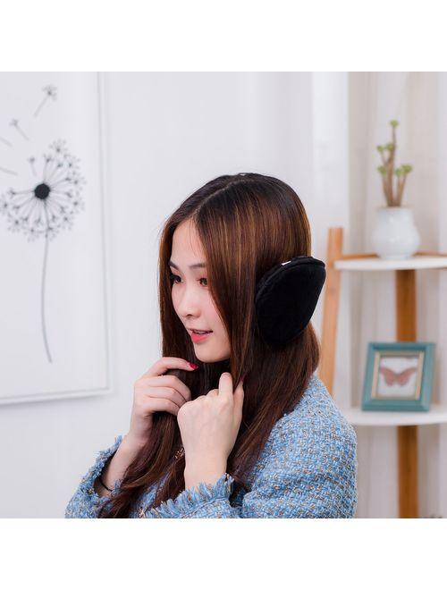 HIG Ear Warmer Unisex Classic Fleece Earmuffs Winter Accessory Outdoor Earmuffs