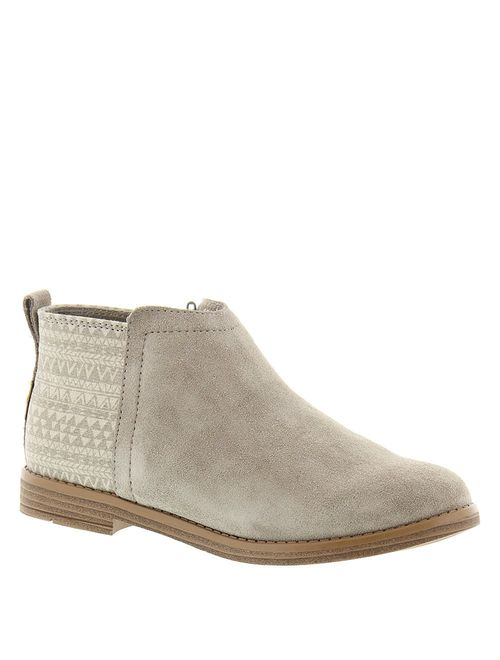TOMS Youth Deia Boots Desert Taupe Geo
