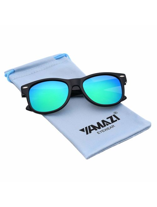 YAMAZI Kids Polarized Sunglasses Sports Fashion For Boys Girls Toddler Baby And Children