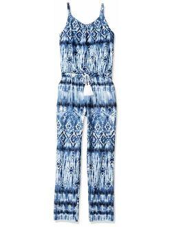Byer Girls' Big' Sleeveless Jumpsuit