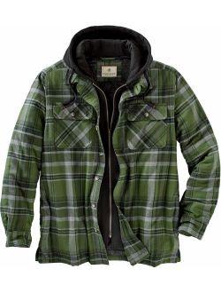 Mens Maplewood Hooded Shirt Jacket