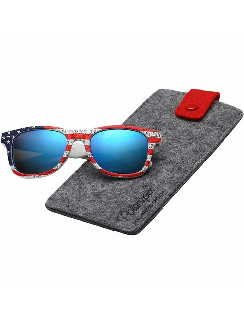 Polarspex Toddlers Kids Boys and Girls Super Comfortable Polarized Sunglasses