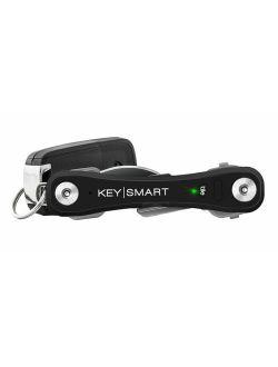 KeySmart Pro - Compact Key Holder w LED Light & Tile Smart Technology, Track your Lost Keys & Phone w Bluetooth Keychain with LED Light